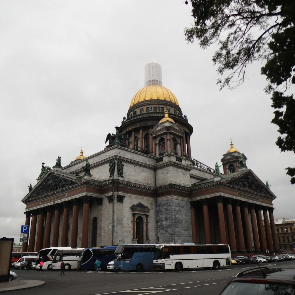 Isaac's Cathedral City Outdoors Stpetersburg Saint Petersburg Travel Travelling