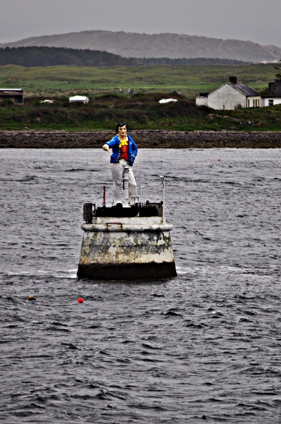 Metal Man Rosses Point,Ireland