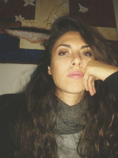That's Me Portrait Italiangirl Sadness