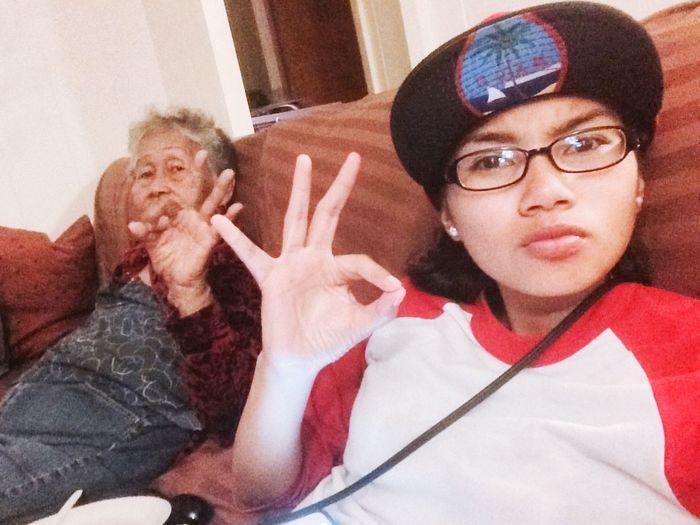 Grandmas Girl Rollin W L My G'ma