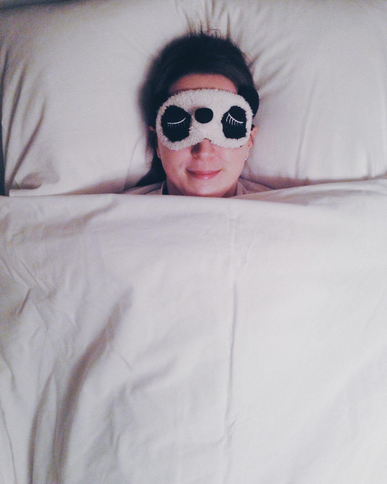 Bedtime Panda Mask Sleeping Beauty Everyday Joy