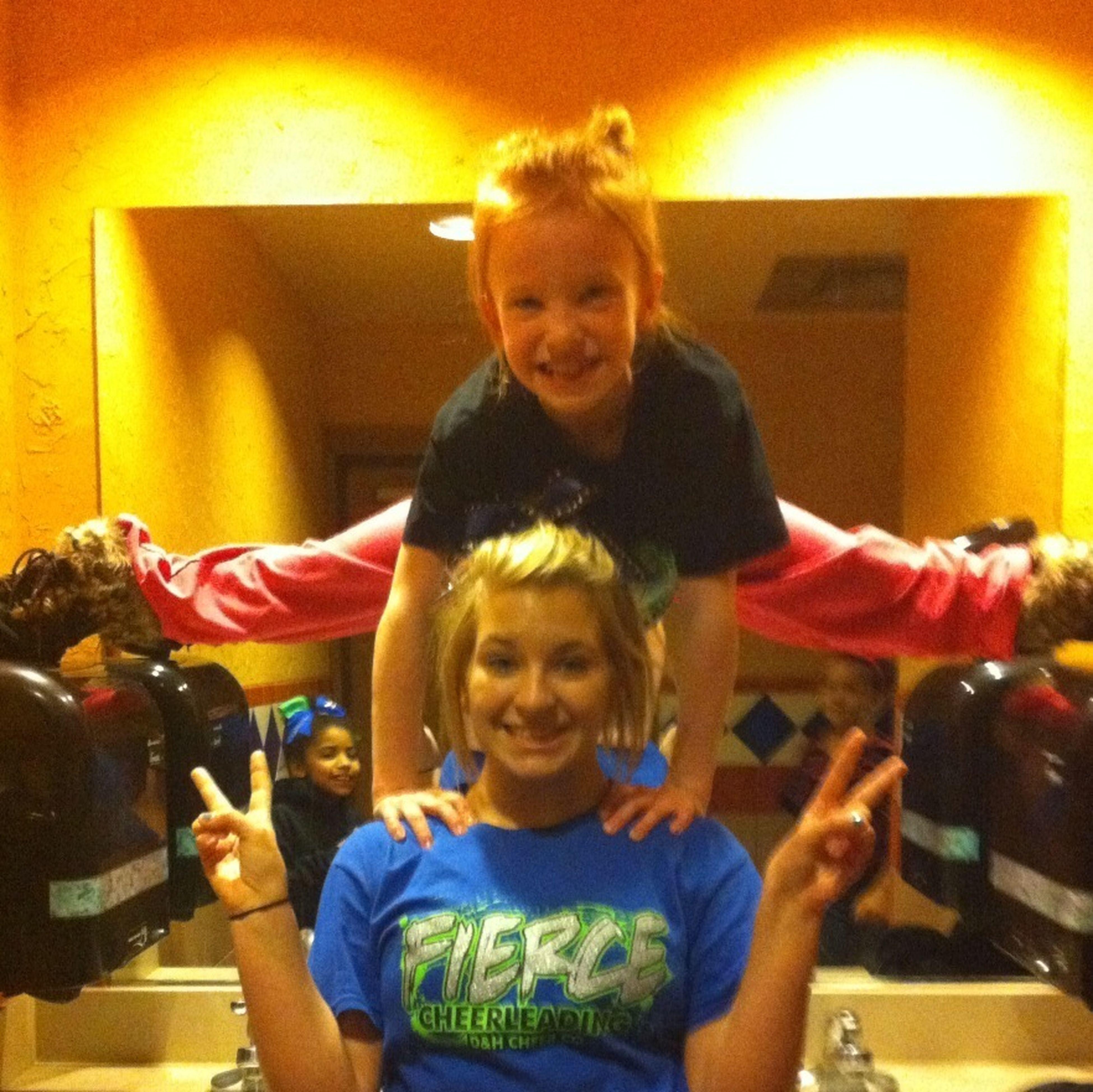 Cheerleader Mess