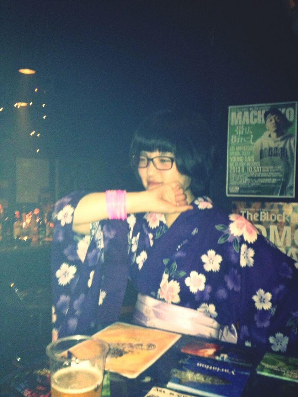 Hi! That's Me Enjoying Life Informal Summer Kimono