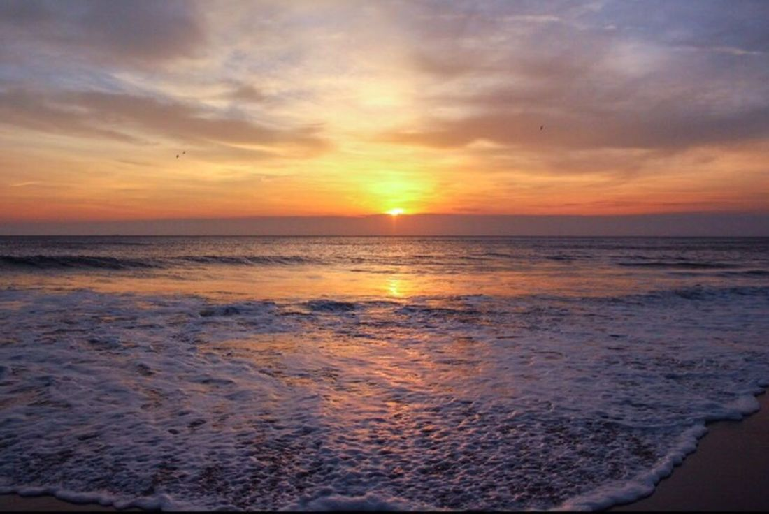 🌅 Sunrise_sunsets_aroundworld Fleetingmoment Sunrise Virginia Beach Painted Sky Clarity ND Filter Atlantic Ocean