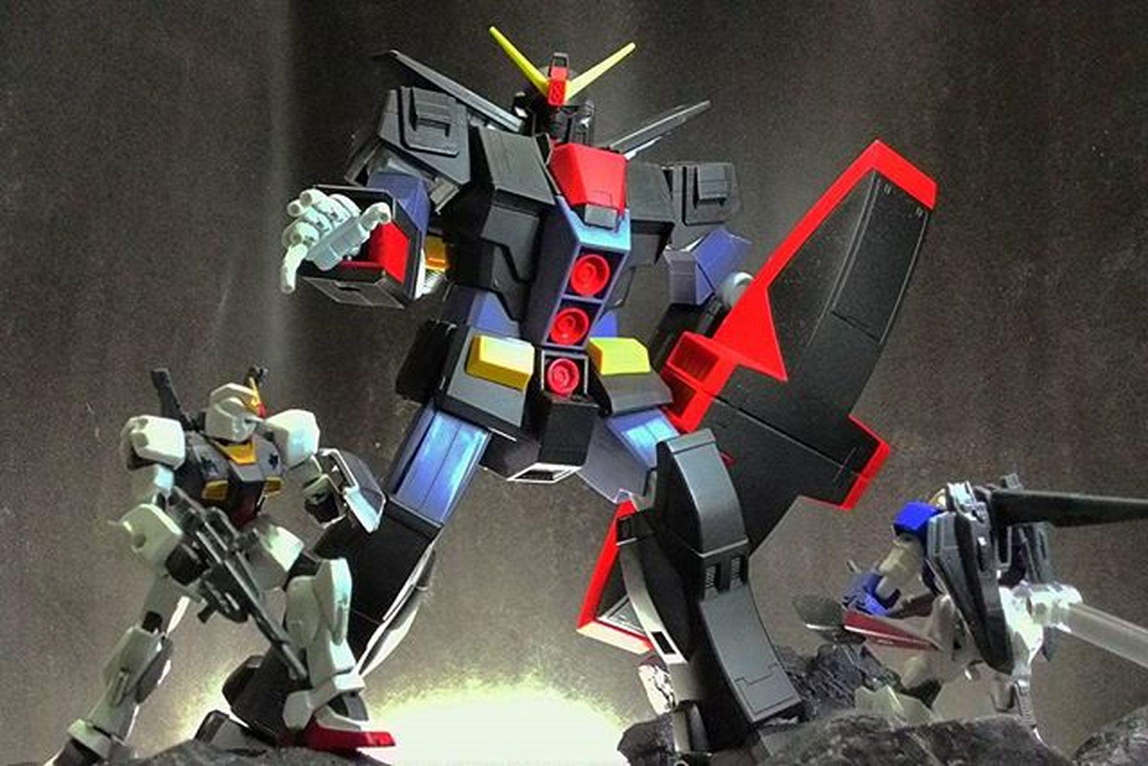 Psycho Gundam attacks Hguc Psychogundam Assaultkingdom Gundammk2 Zetagundam Mobilesuitgundam Gundamzeta Toyphotography Toyphotogram Instagundam