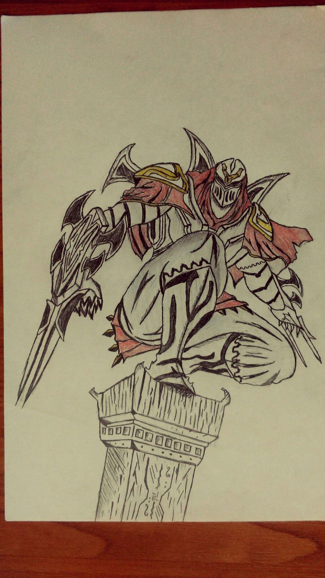 Zed Art, Drawing, Creativity Pencil Drawing League Of Legends Art Pencil Ninja Shadow