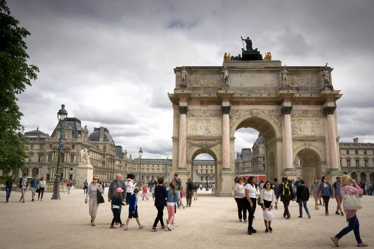 Arc de Triomphe du Carrousel Louvre ArcduTriomphe The Tourist