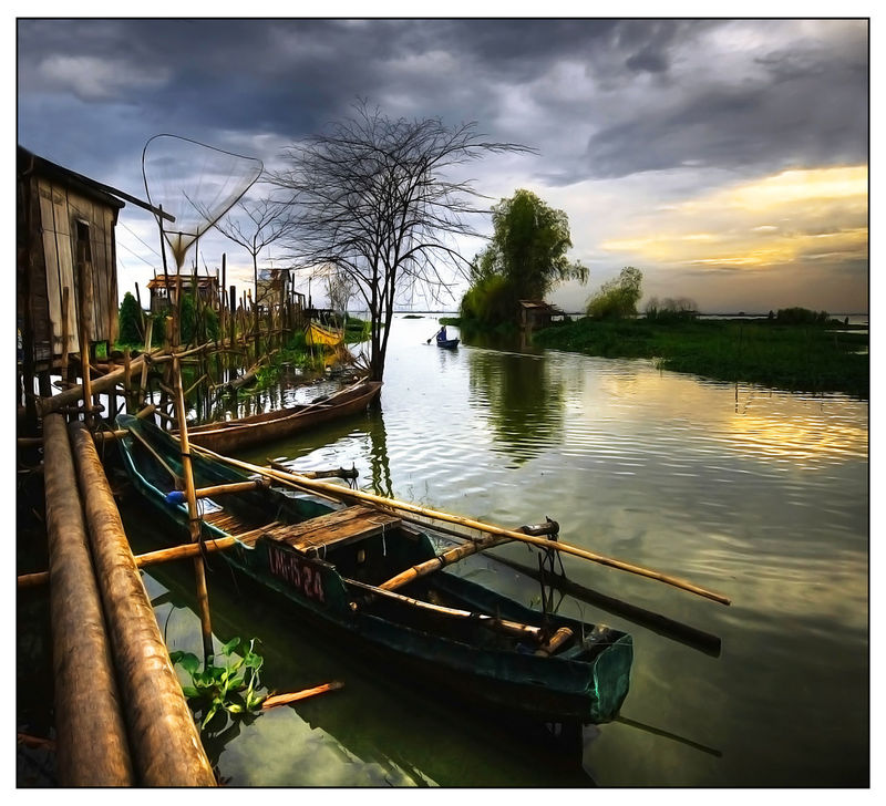 Banca Boat Joel Yonzon Lake Lake View Landscape_Collection Leading Mode Of Transport Nautical Vessel Outdoors Reflection Rippled Rowboat Tranquility Transportation Travel Water Waterfront