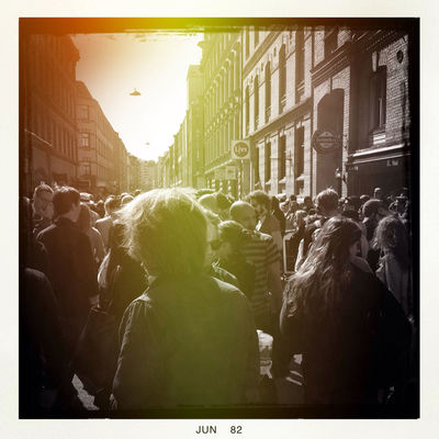 streetphotography at AndraLångdagen by Thomas Lejon