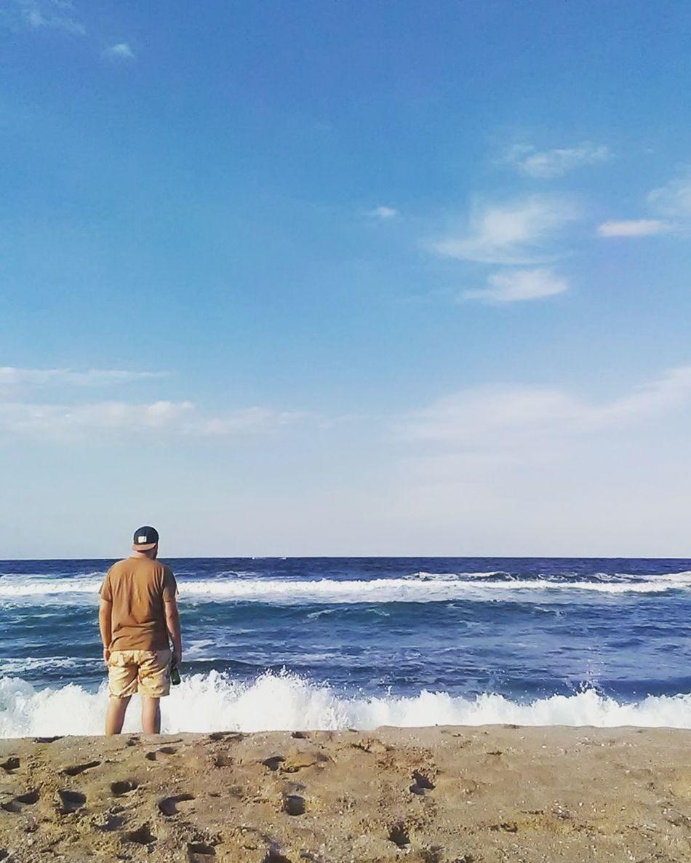Alonewithnature Summer Memories Sea Blue Wave Sky