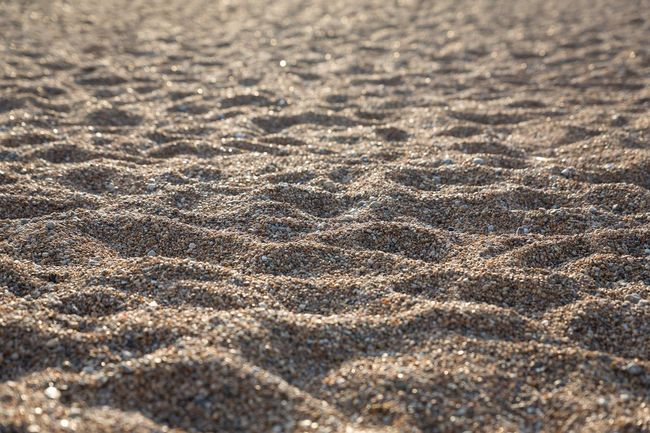 Sand And Pebbles On The Beach Seaside Seascape Backgrounds Abstract Close-up Beach Sand Grains Of Sand