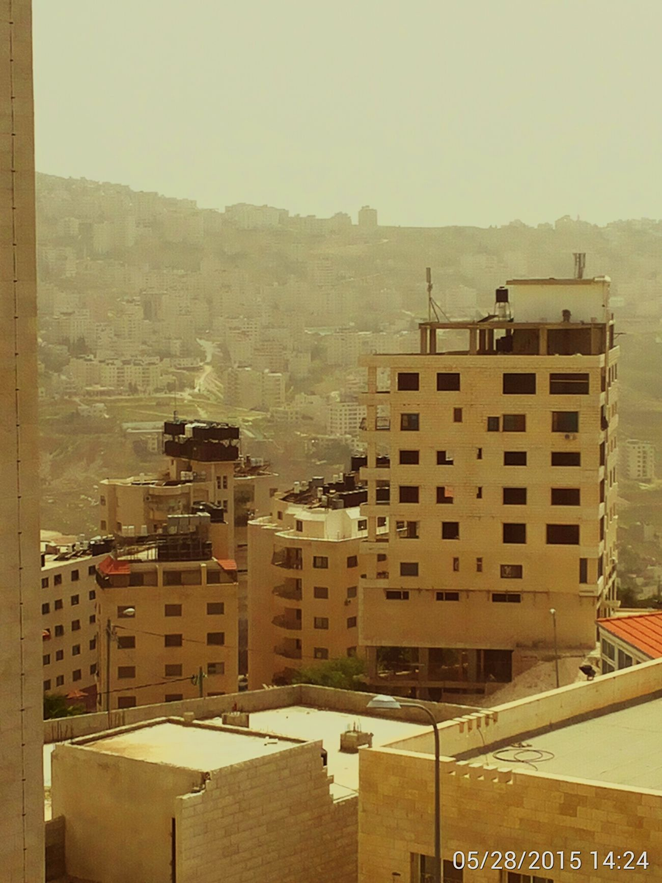 Aerial Shot Nablus الجمال  نابلس