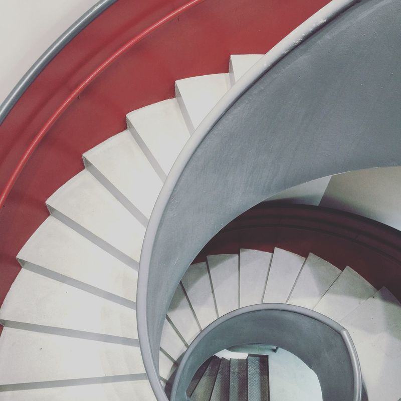 Architectural Detail Stairs ArtWork Bilbao