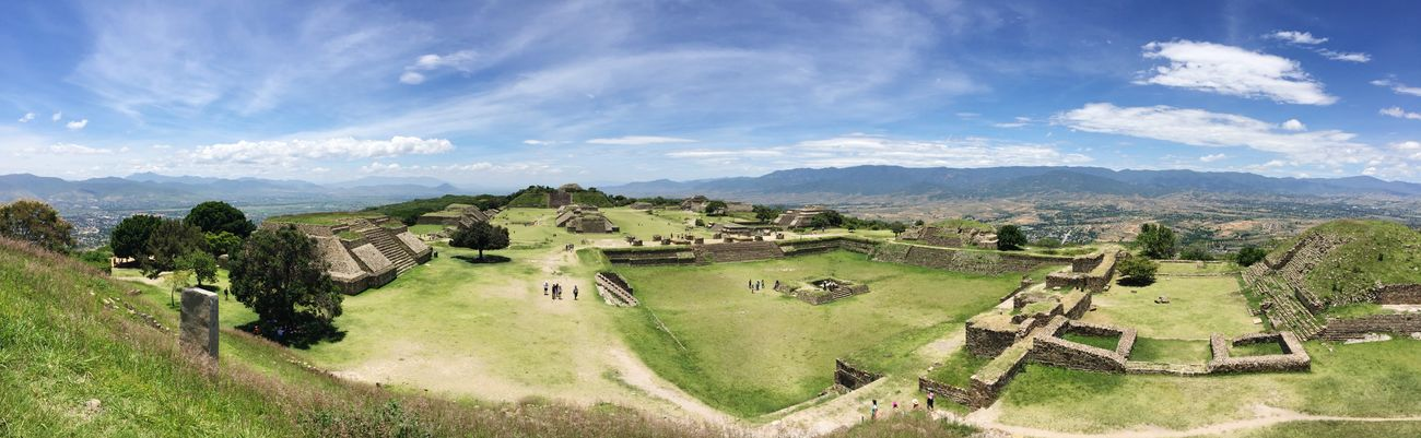 Panoramic View 📷 Summer15 Oaxaca Monte Alban Mexico Landscape