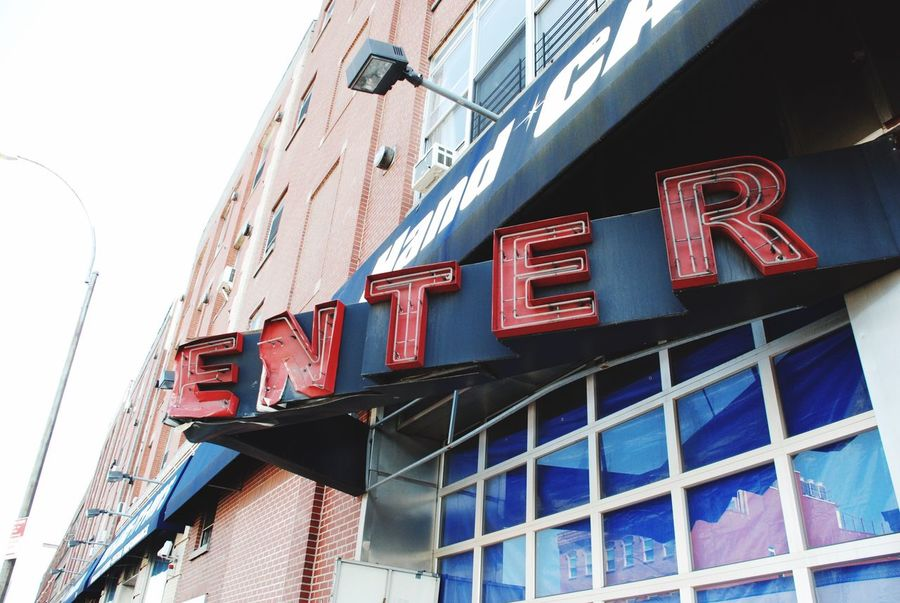 Enter sign Signs Letters Enter Business Neon