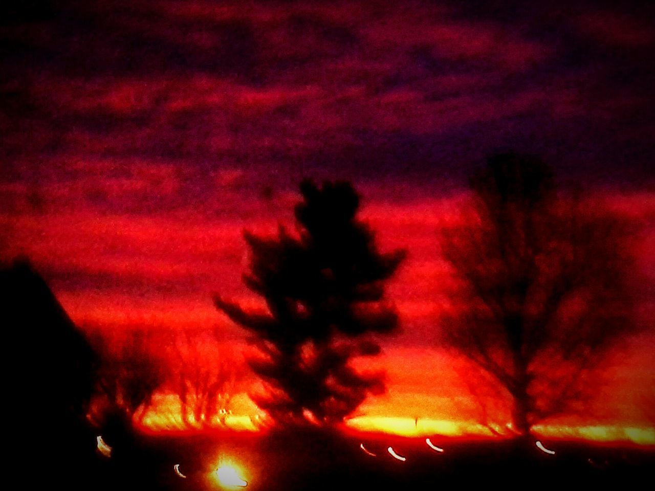 Showcase: December Sunrise Landscape Silhouette OutKast Missouri Breath It In Rise And Shile