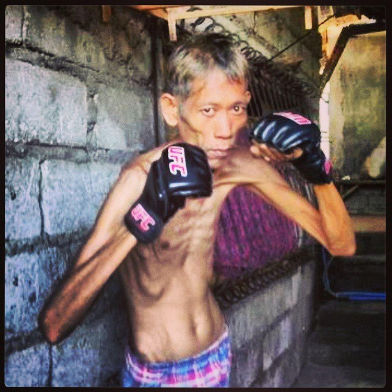 Future ufc heavyweight champion... UFC MMA Macau Strikeforce lungcancer