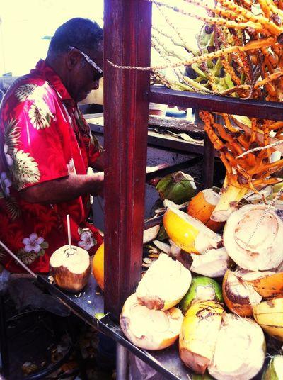 Coconutying life] Coconuts