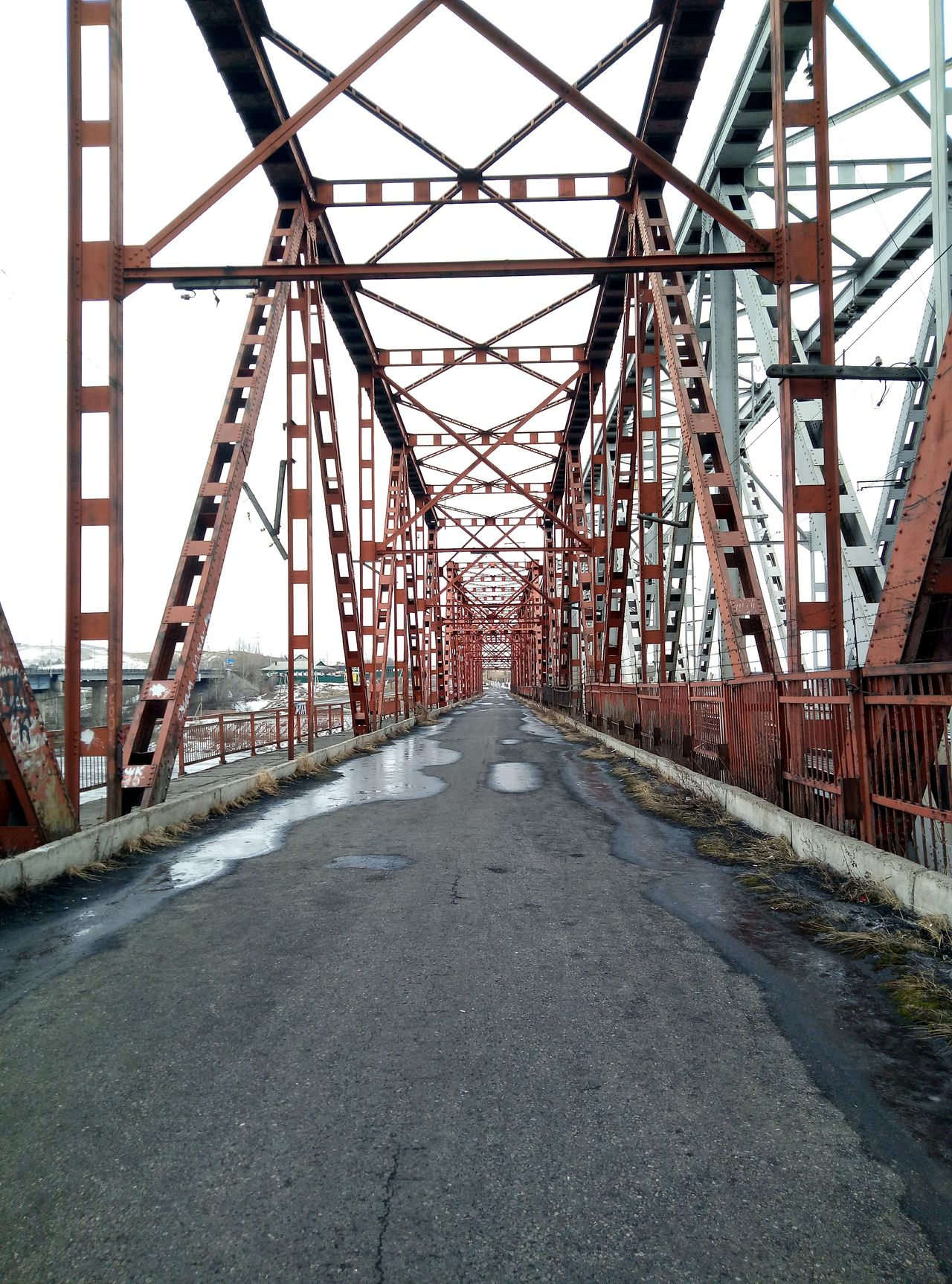 мост Urban Brige Abakan Siberia, Russia Khakasia No People Architecture The Secret Spaces