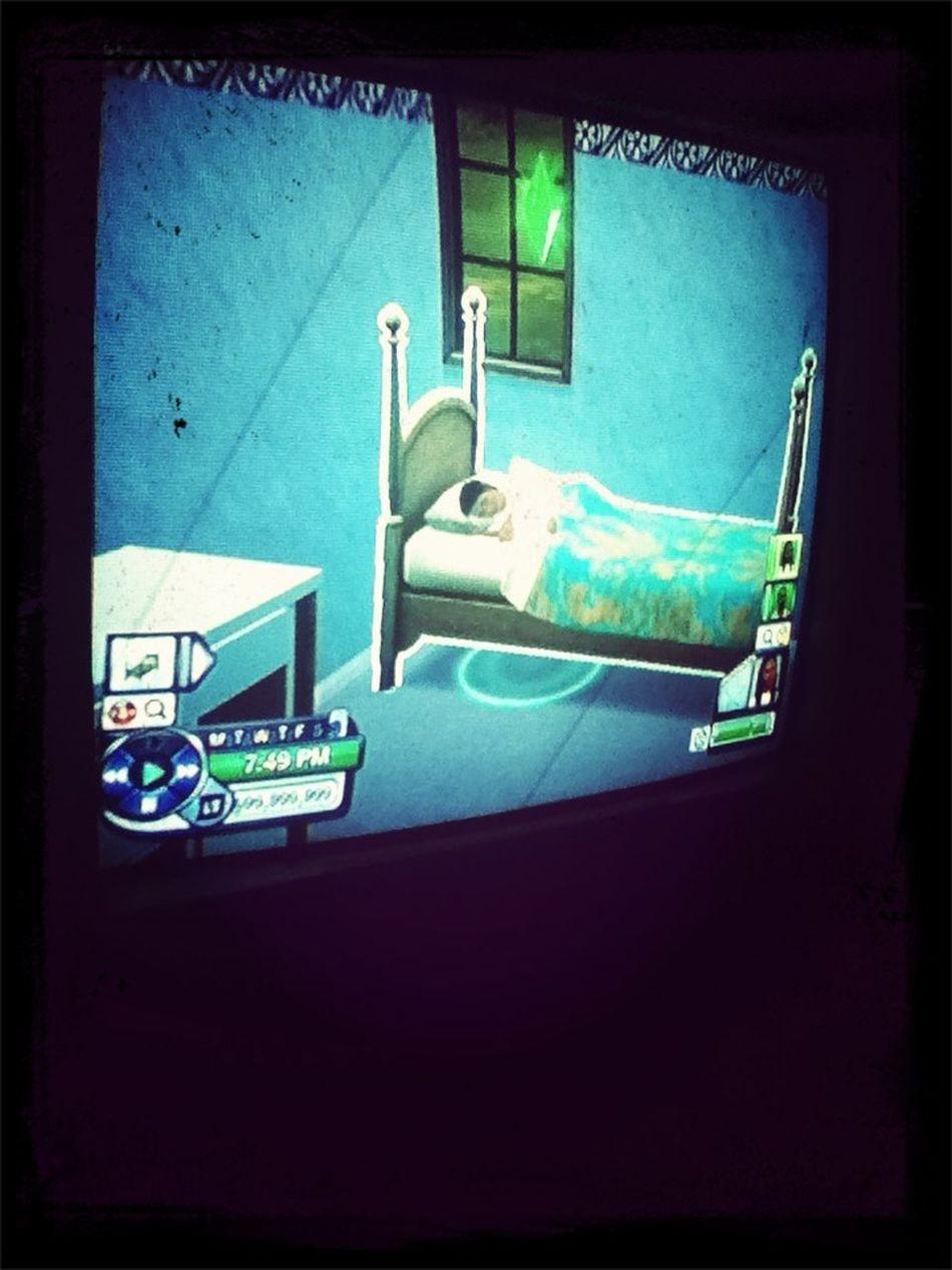 Playing Sims 3