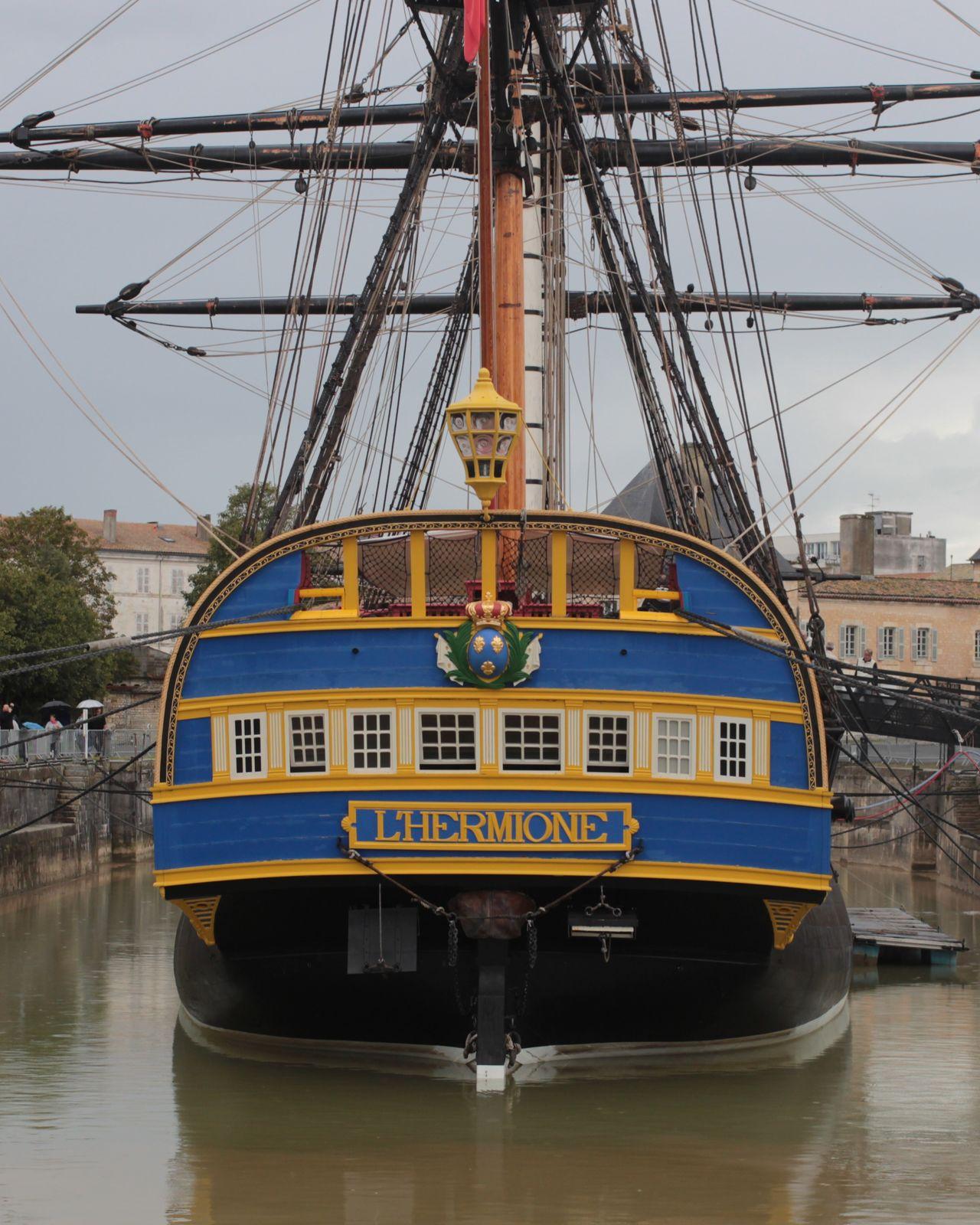 Hermione Fregate Boat