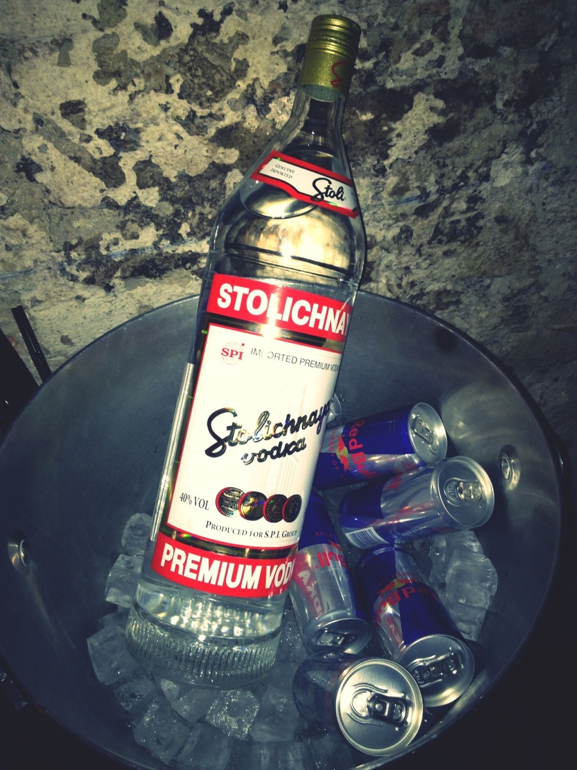 The endless possibilities at the bottom of a bottle of Stolichnaya.