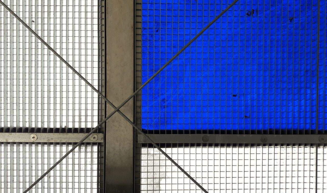 Lattice Lattice Pattern Lattice Variation Architecture Architectural Detail Backgrounds Full Frame Pattern Close-up Minimal Abstract Blue Metal Structure Metal Art