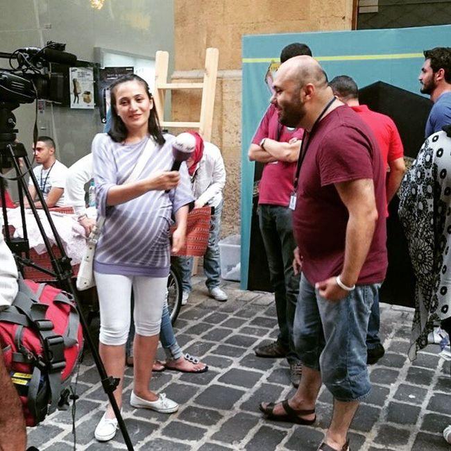 On AlArabya ... Momet of fame 🙈😍