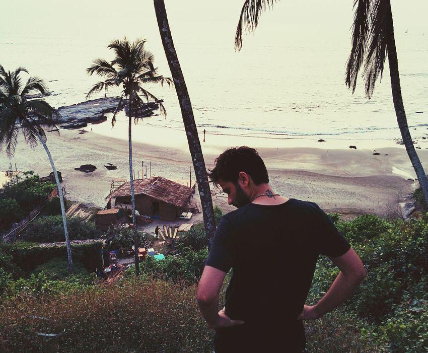 Sunset Goa Peace ✌ Stoned #Trippy