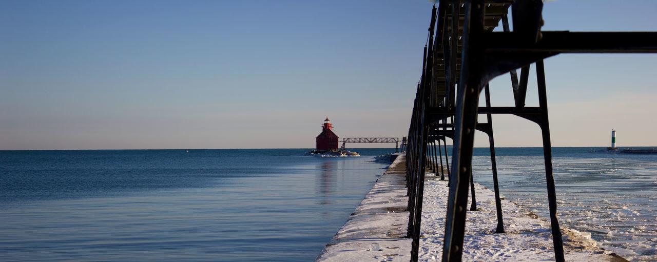 Sturgeon Bay Canal Lighthouse Architecture Door County Vacation Door County, Wisconsin Lighthouse Lighthousephotography Sturgeon Bay Wisconsin Wisconsin Winter