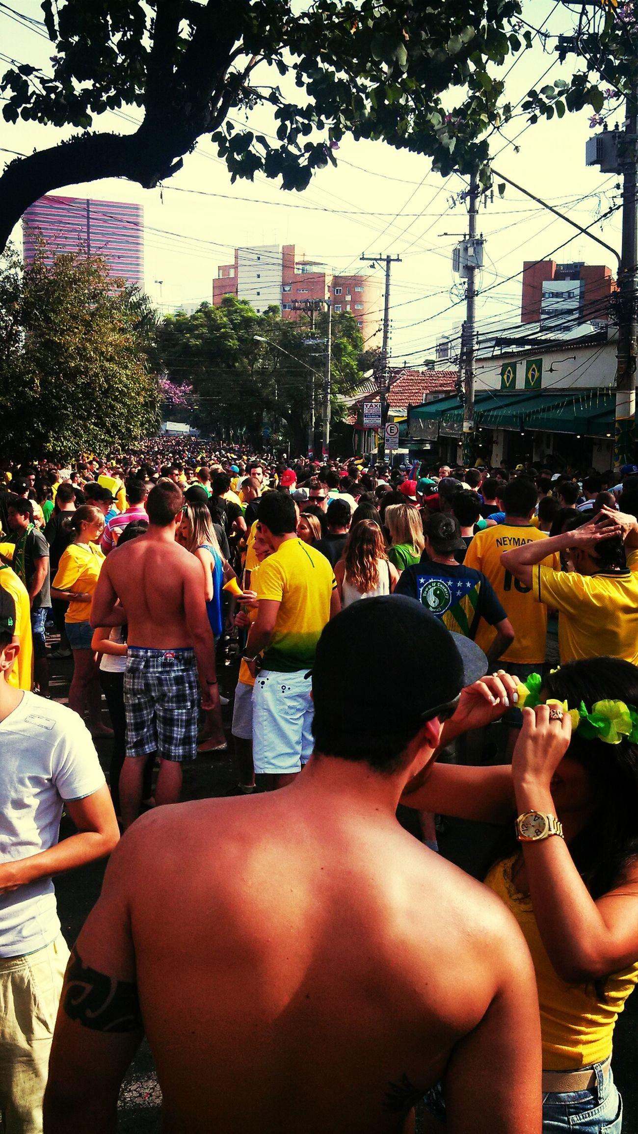 Vila mada tá boa em, jogo do Brasil é lá com certeza ! Vila Mada