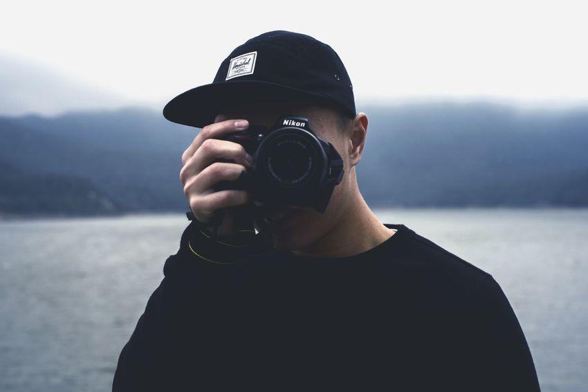 CaptureShowcase: February Hong Kong Boy Hongkonger Nikond3300 Cap Smile Urbexphotography Looking At Me Cloudy Day