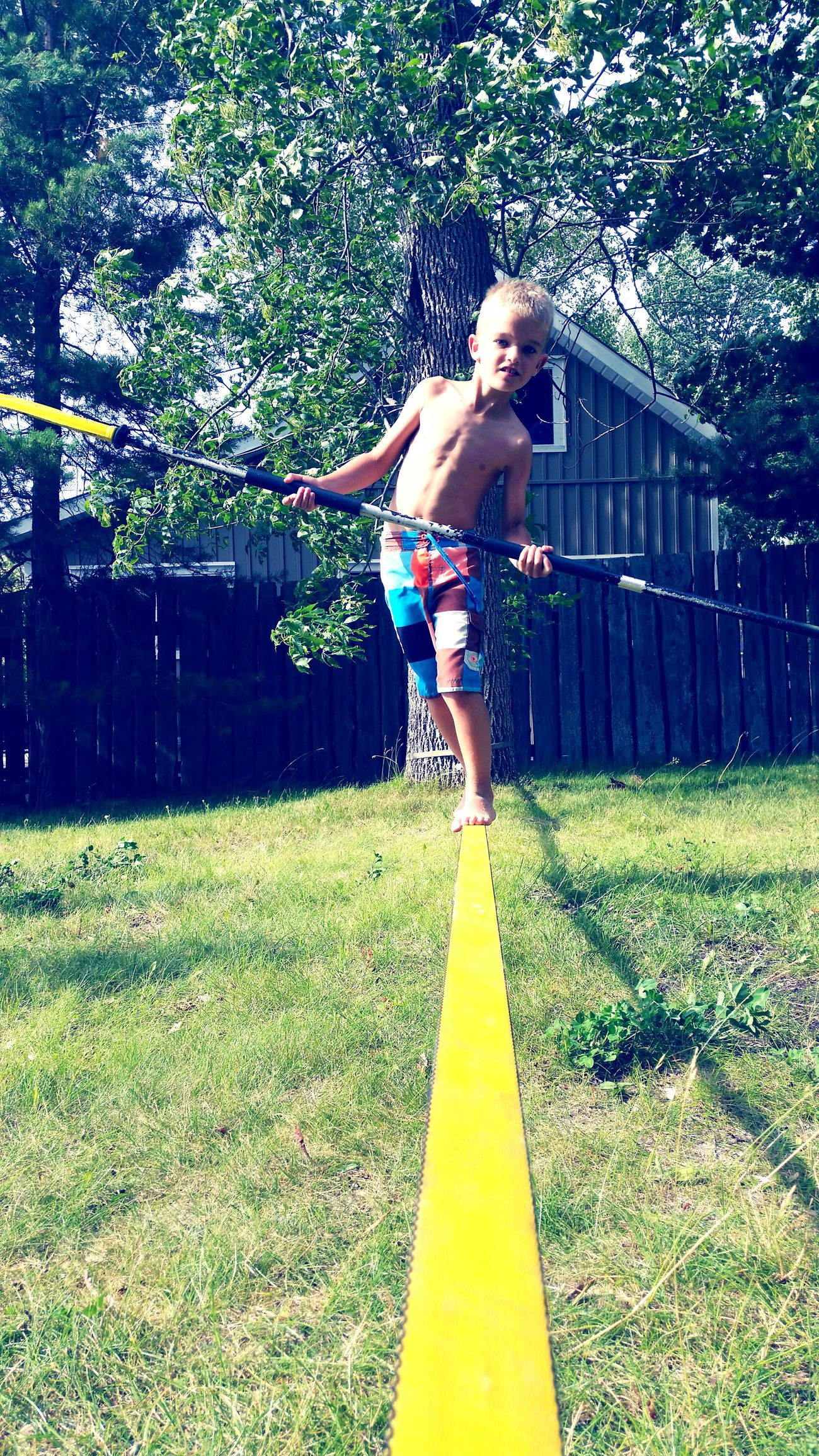Max Slackrope With Paddles