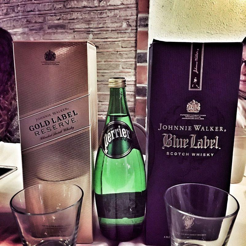 Whiskey Johnny Walker Blue Label Gold Label Perrier EyeEm Best Shots Eye4photography
