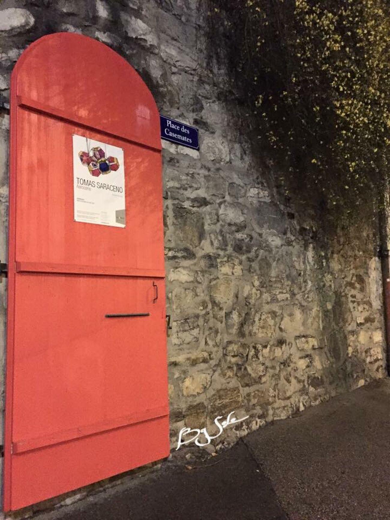 Red Architecture Porte Rouge Ville Place Vieille Ville Geneve Pierre Bois Panneau