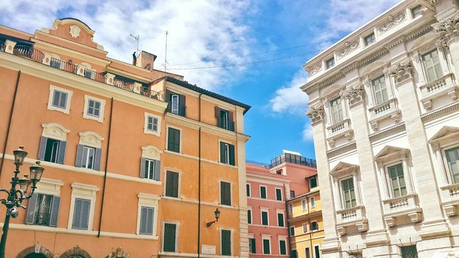 Inspired of Rome architecture Rome Italy Roma Architecture Beautiful Rome City Orange Built Structure