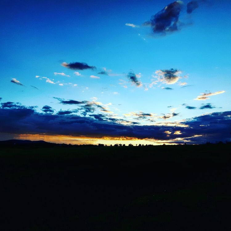 Sunset Beauty In Nature Clouds And Sky First Eyeem Photo Magazine Magazine Cover Nature Nature Photography