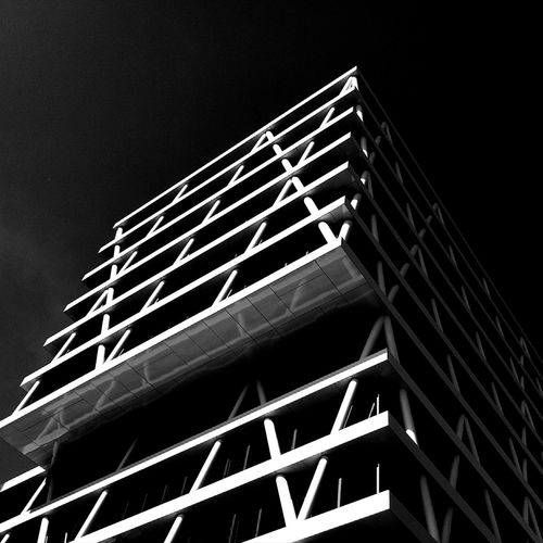 Architecture_bw Black & White Blackandwhite Black And White Black&white Urban Geometry Architecture_collection Architecturelovers Architectureporn Lookingup Architecture HuaweiP9 Taking Photos Battle Of The Cities Eye4photography  Mobilephotography Monochrome Photography