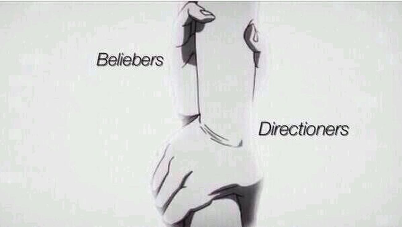 we got you.. Directioners Are Here For Beliebers (:
