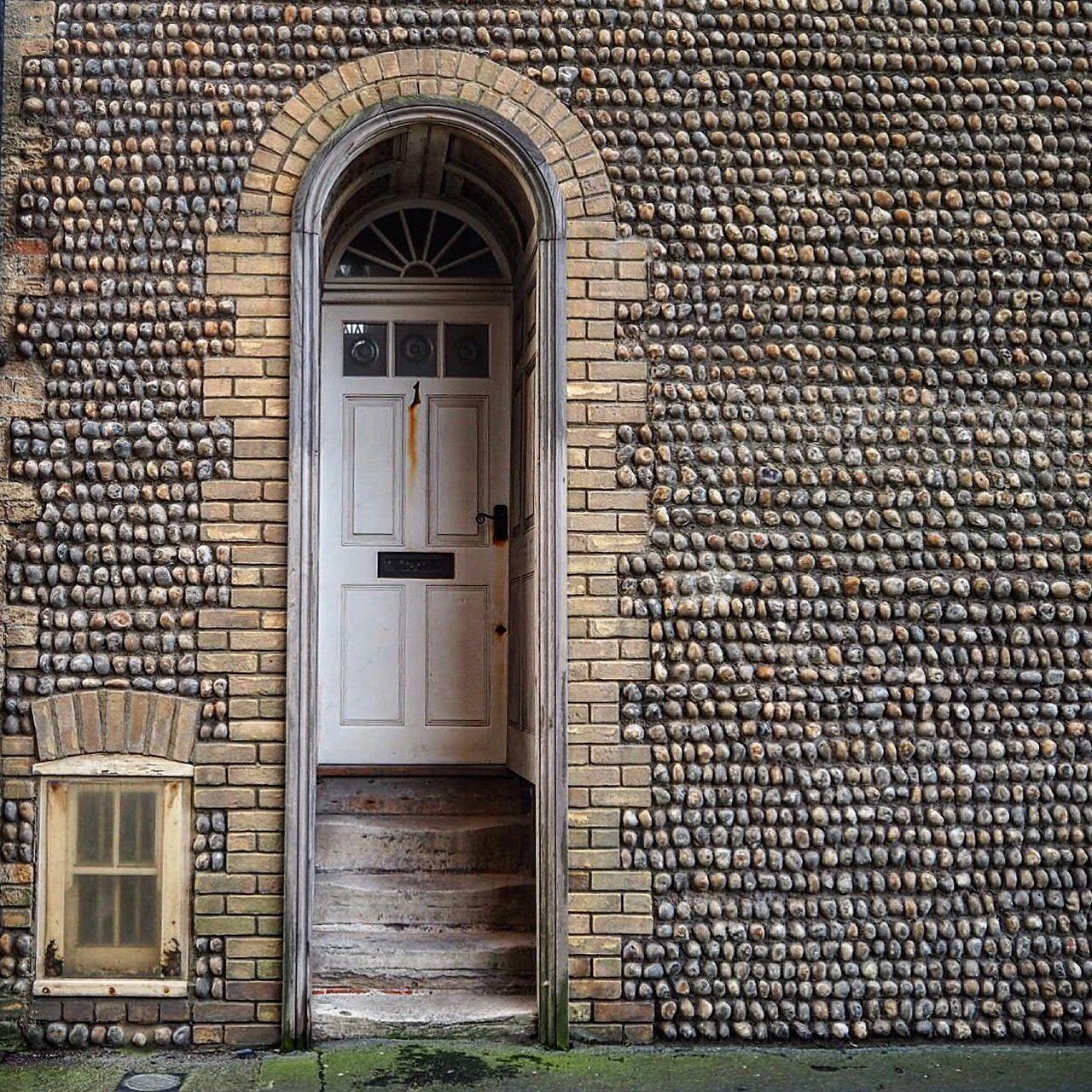 Door Worthing Brickporn Bricks Architecture Flint