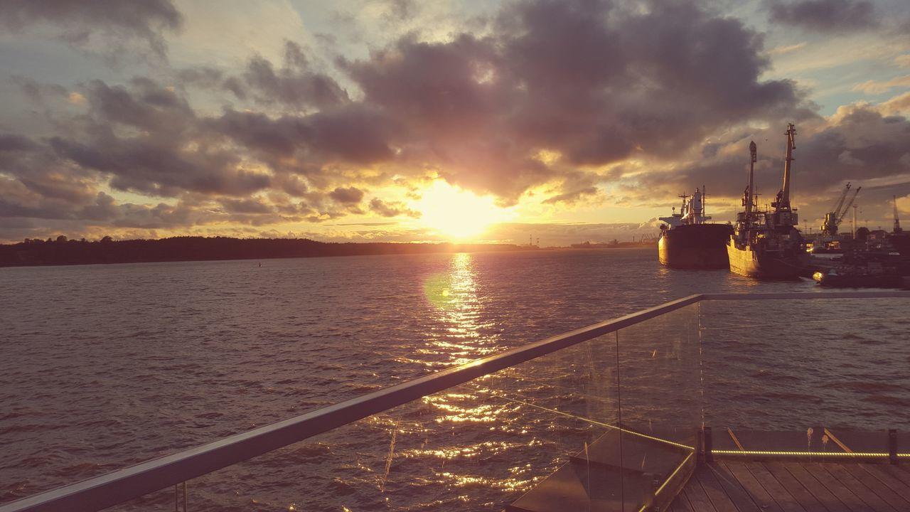 Ships Evening Light First Eyeem Photo
