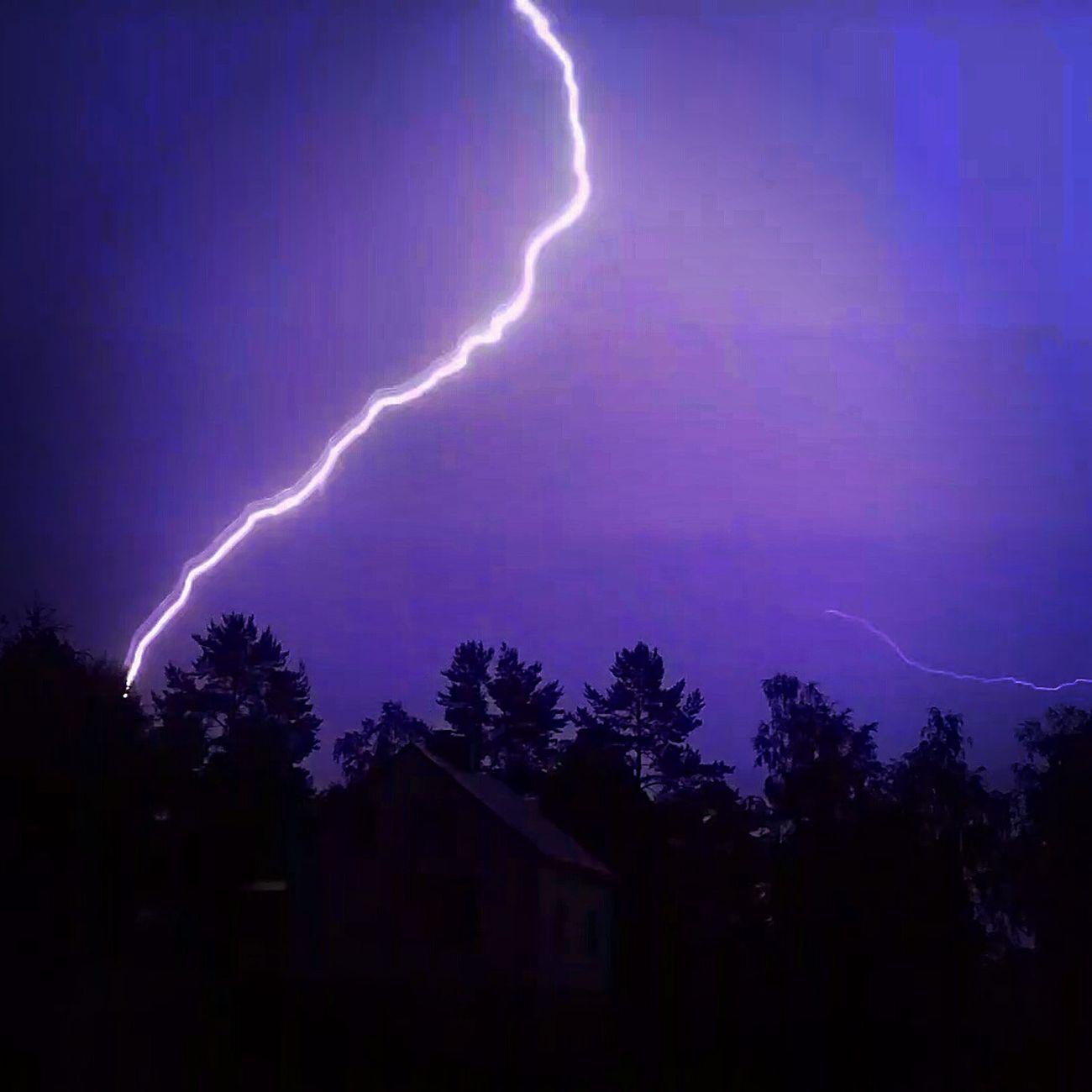 Thunder Lightning Sweden Summer