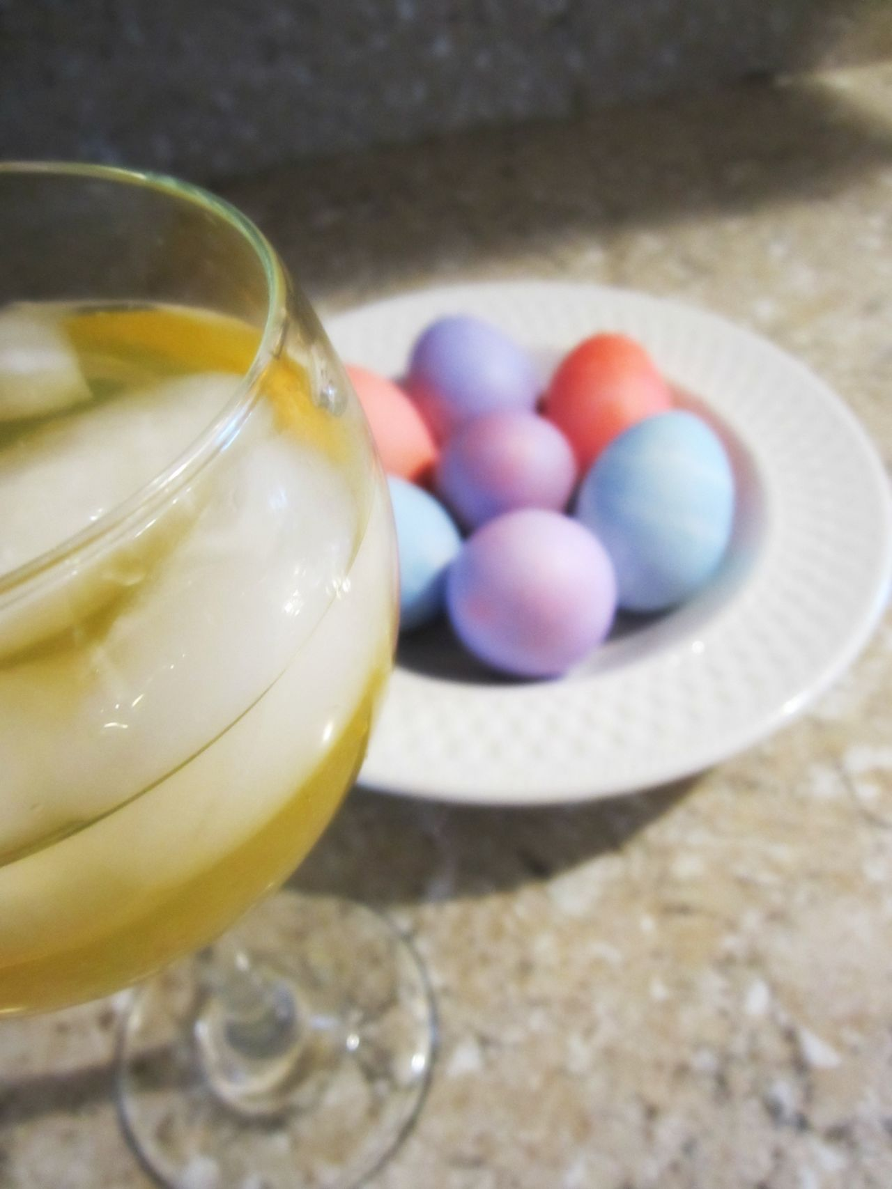 Bowl Close-up Colored Eggs Colorful Easter Easter Eggs Focus On Foreground Ice Cube Multi Colored Ready-to-eat Wine