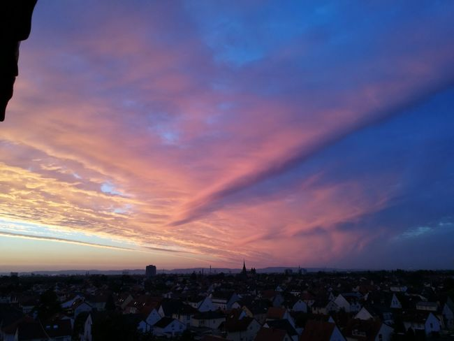 Hello World Enjoying Life Beautiful Nature That's Me Wonderful Home Is Where The Art Is 43 Golden Moments Rheinland-Pfalz  In Good Old Germany In Summertime Beautiful View I Love It ❤ I Like The Atmosphere At Home On My Balcony Over My Hometown Beautiful Sunrise🌞💞 Early Morning vera🕉☯📌🔯☮📷