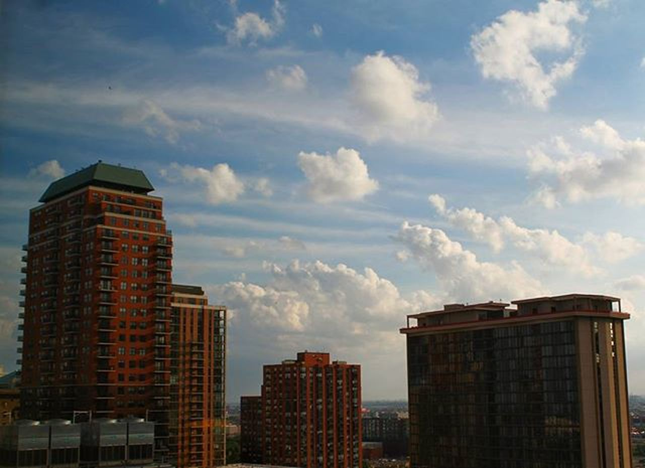 Somewhere Downtown Chicago on June 7 2014 without effects Cloudsandsky Iloveclouds Canon