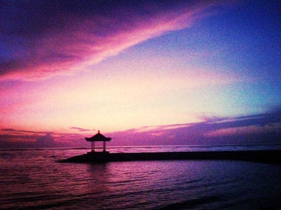 Sunrise moment Sunrise Beach Bali Sunrise Silhouette