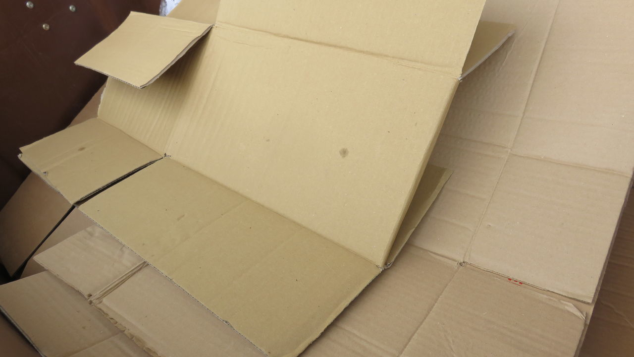 Box Boxes Carton Discarded Garbage Packaging Paper Pile Recycled Materials Trash