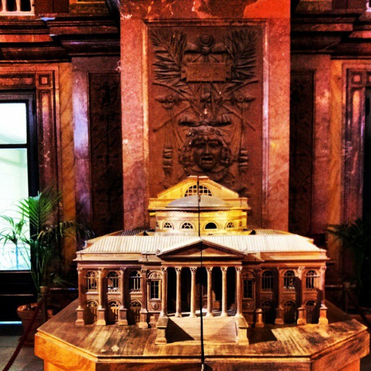 Teatromassimo Teatro Palermo Sicilia_nel_sangue Sicily Basile Wood Architettura Modellino