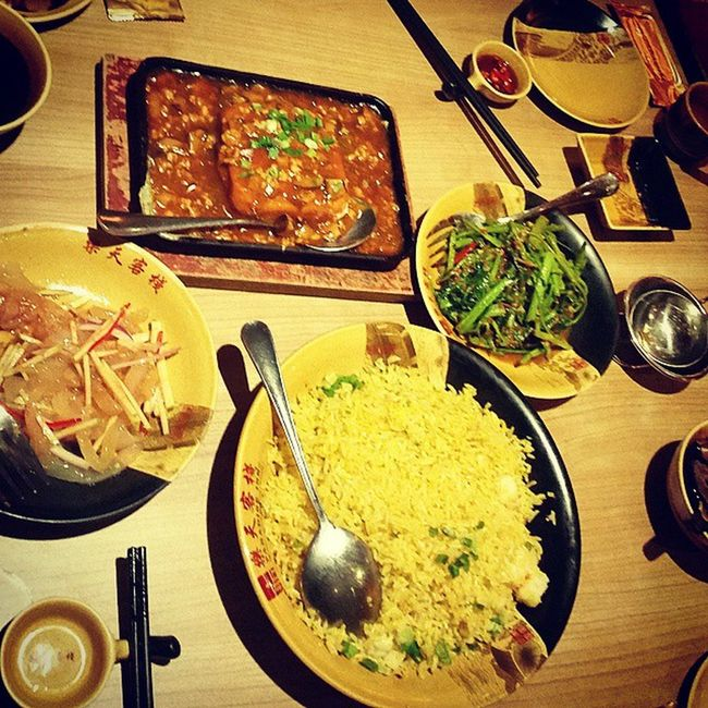Dinner Dinner Whatsonthetable Food Chinese Chinesefood Foodoftheday Pictureoftheday Instagram Instafood Taste