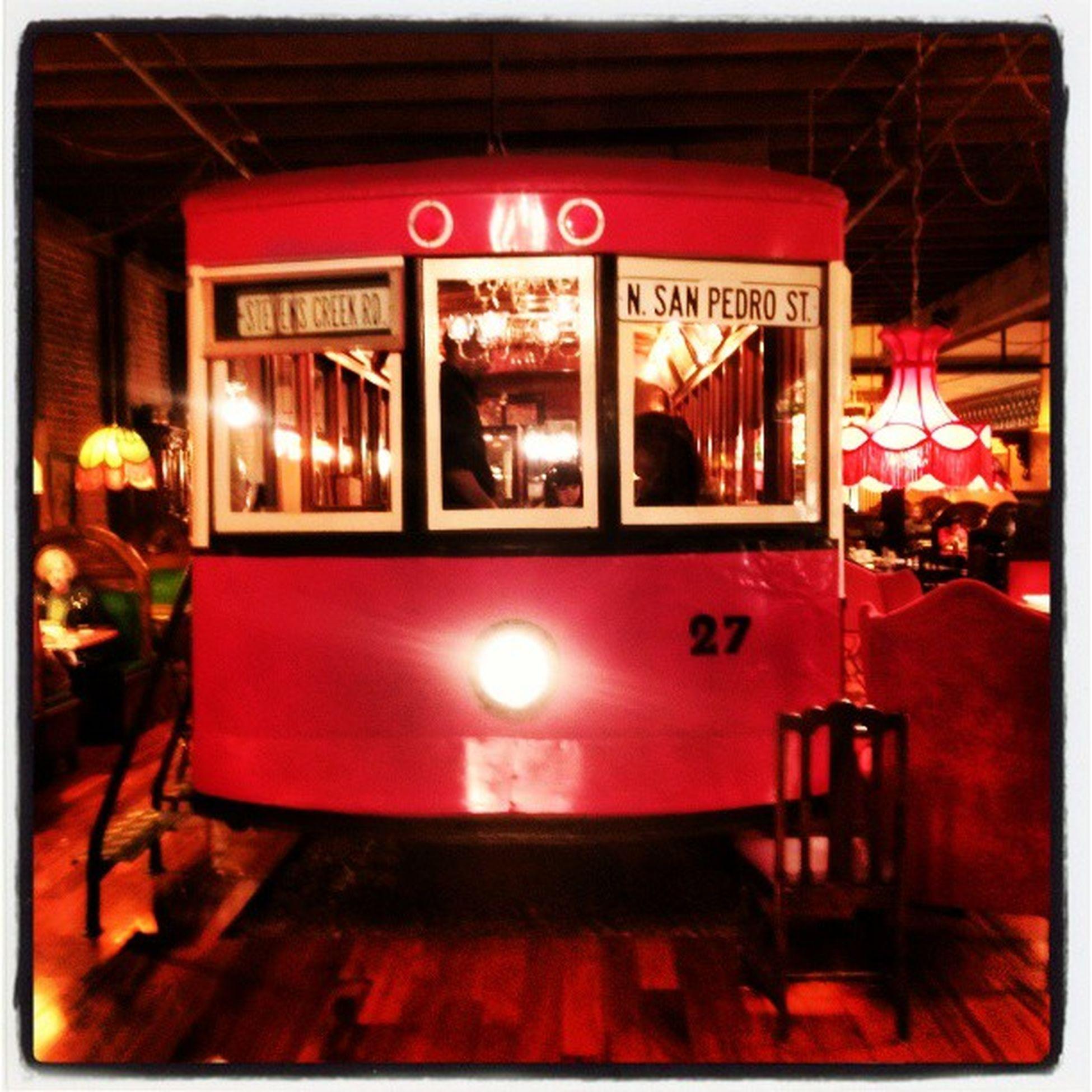 Choo! Choo! Down the spaghetti line... Restaurant Train Spaghetti
